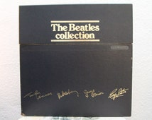 "The Beatles - ""The Beatles Collection"" vinyl records, Box Set, 14 LPs, All Original, Posters, Inserts, Japan Import, Limited, #010277 (NT)"