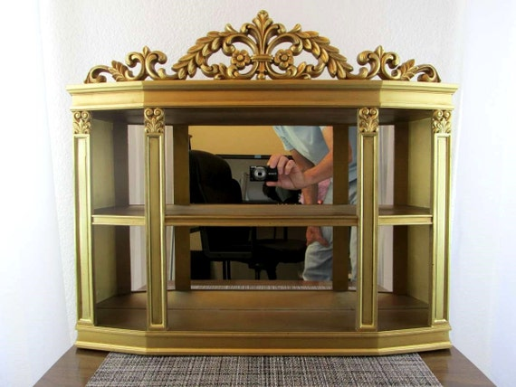 RESERVED For Michele 1971 Vintage Syroco 3614 Mirror Curio