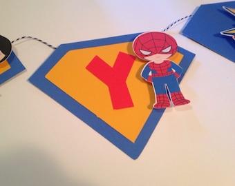 Super Hero NAME Banner