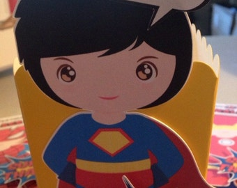 Super Hero Treat Boxes x12