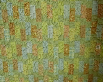 Light Colored Fluffy Quilt