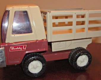 Vintage Buddy L Stake Truck