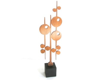 Disks on Sticks Sculpture