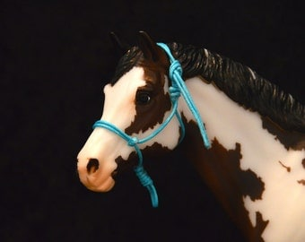 Traditional Scale Breyer Model Horse Rope Halters (Made To Order)