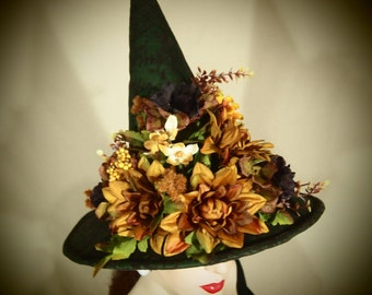 "Couture Witch Hat ""Witch Woods"""