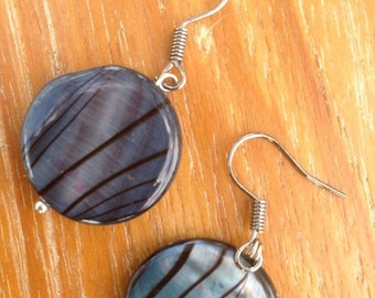 Gray Cloud Earrings
