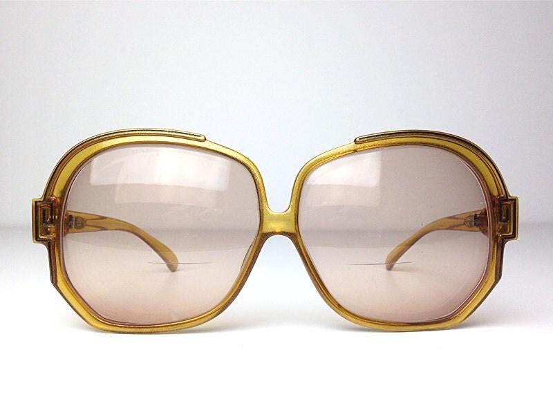 CHRISTIAN DIOR Vintage glasses / frame / oversized with greek