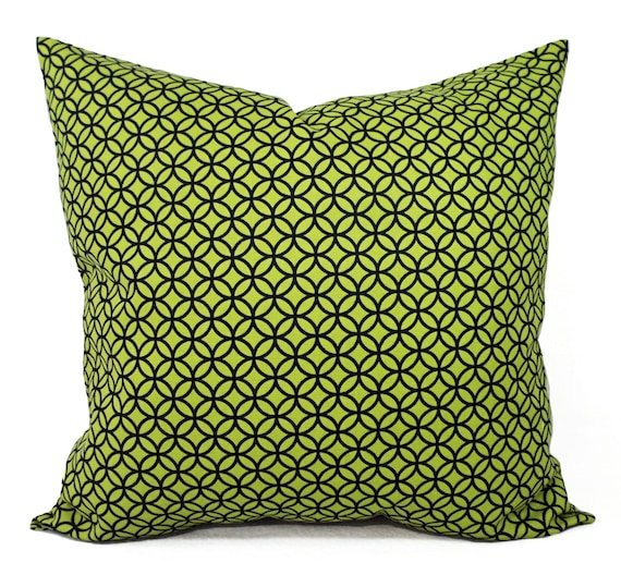Decorative Pillows Outlet : CLEARANCE Green Pillow Cover Decorative by CastawayCoveDecor