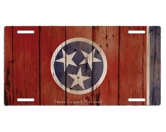 Tennessee Vintage License Plate