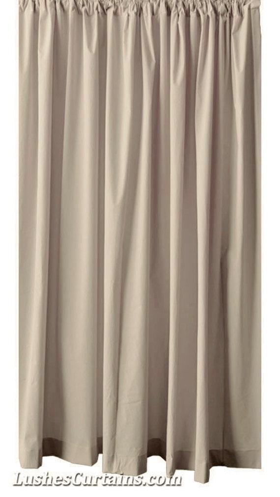beige velvet 96 inch high curtain long panel custom made. Black Bedroom Furniture Sets. Home Design Ideas