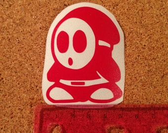 Shy Guy Vinyl Decal