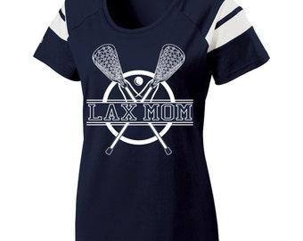 Short Sleeve, Screen Printed, Lacrosse Mom T-Shirt