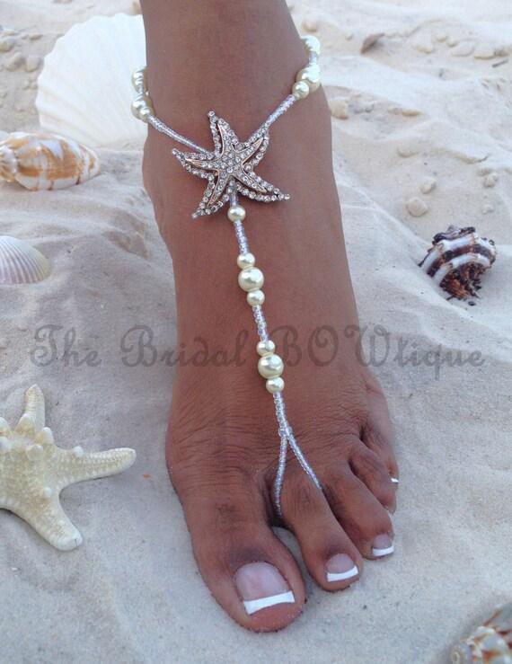 Starfish Barefoot Sandals Beach Wedding Sandal
