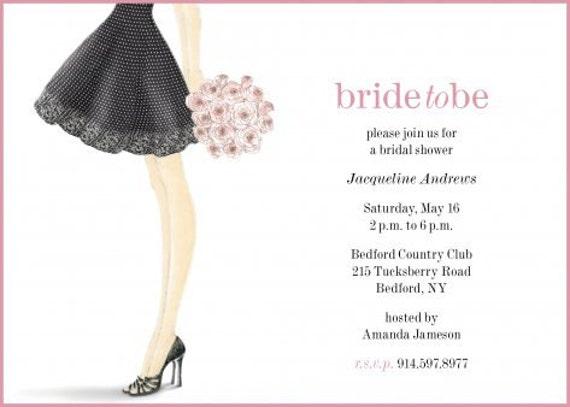 Bridal shower invitation shoe invitation bridal shower invitation il570xn filmwisefo Images