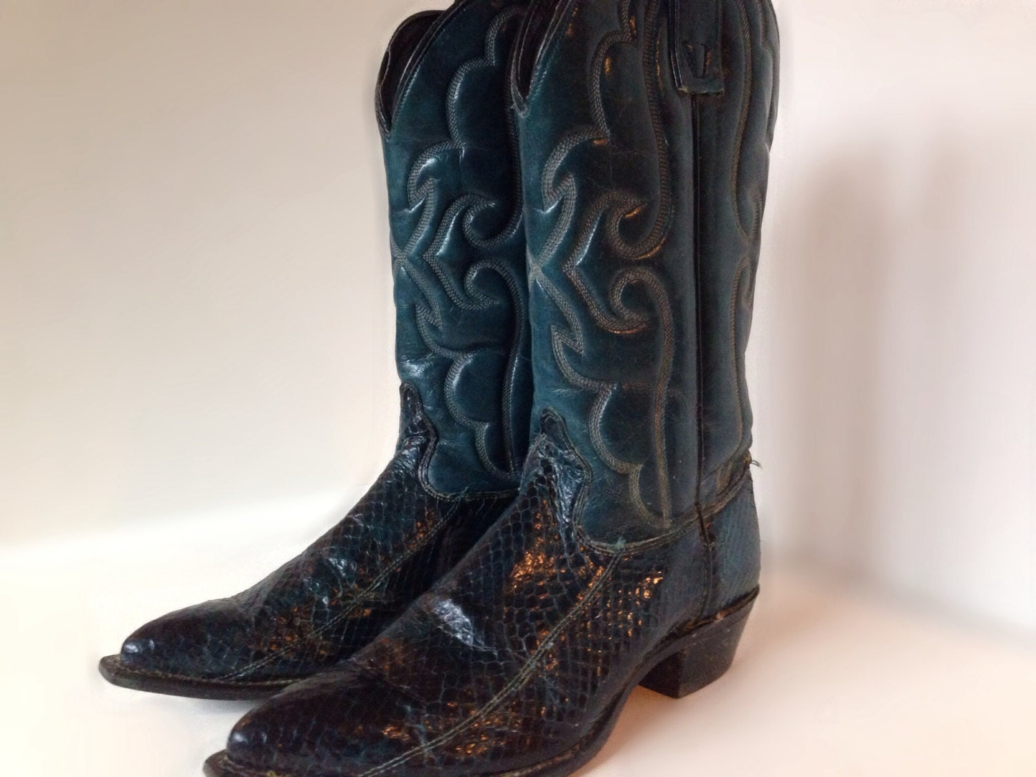 Beautiful Take A Look At This Chocolate Amp Teal Ostrich Cowboy Boot  Women On