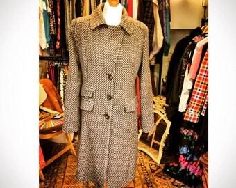 Classic Tweed Coat