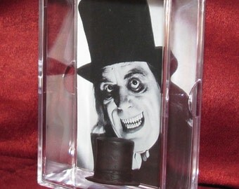 """Lon Chaney Sr. """"The Phantom of The Opera"""" TopHat Display """"Unique"""" only have 1!! Took It While He Slept !"""