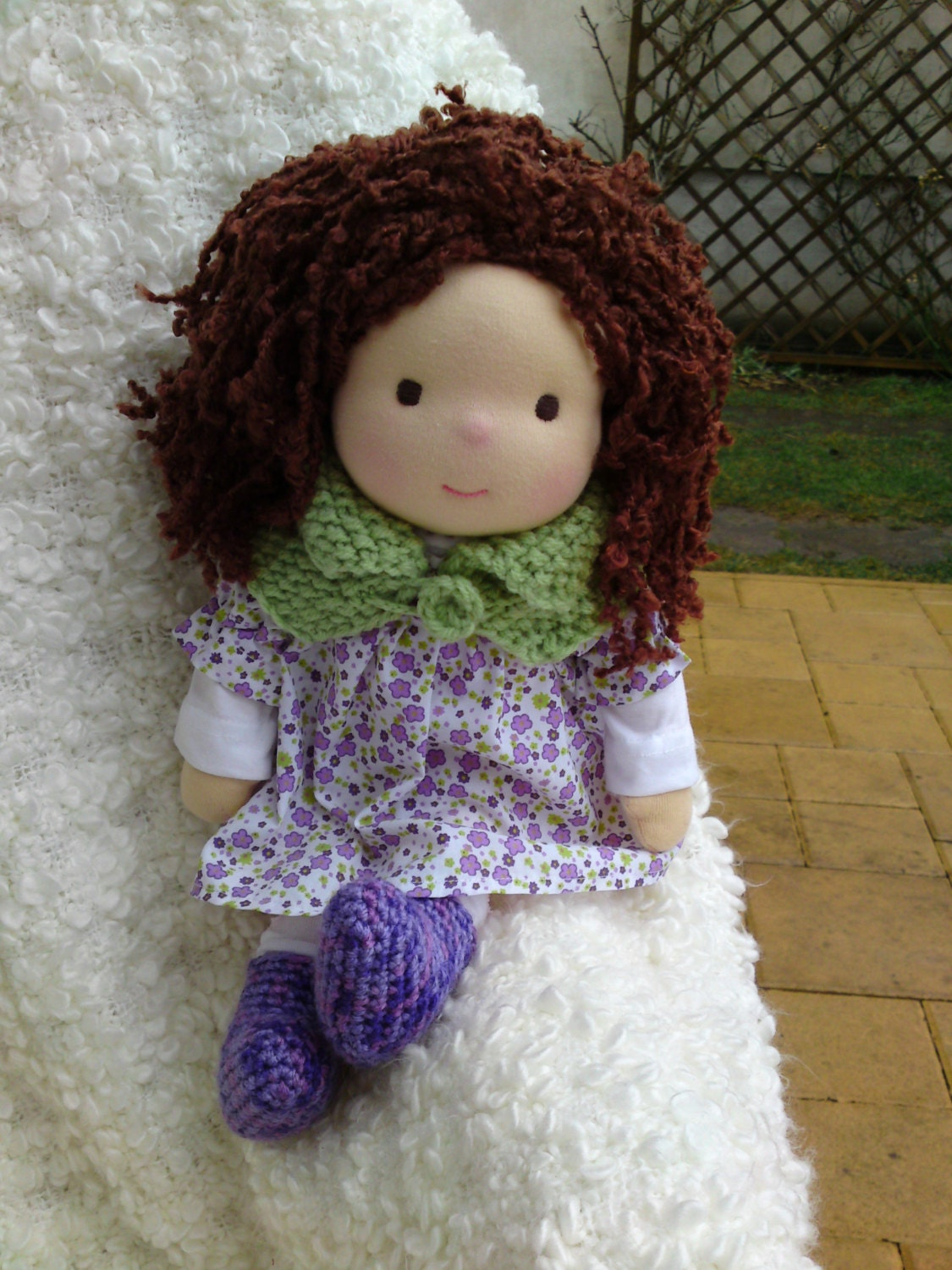 Waldorf doll17 tall dollsteiner doll fabric doll by marydolls - Material waldorf ...