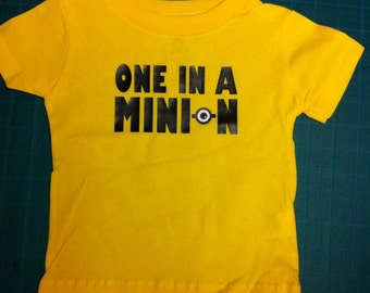 One in a Minion Shirt