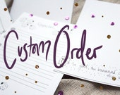 Custom Order: 160 sheets of The Good, The Baaaad and The Ugly Stationary Papers // Paper Products // Stocking Stuffers