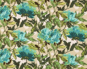 Amy Butler Fabric - Soul Blossoms - Twilight Peony -  AB59 - 100% High Quality Cotton