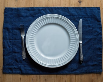Navy Vintage Placemat