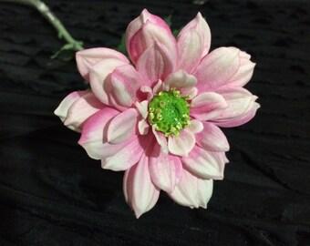 Light Pink Daisy Mum-Dahlia Silk Flowers Artificial Flowers DIY