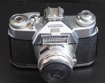 FREE SHIPPING, Vintage, Voigtlander Bessamatic Camera