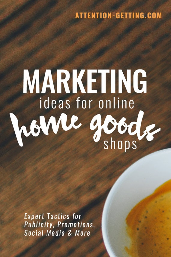 Home Goods Shops Marketing Ideas Ebook from by ...