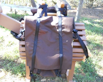 Large Mini Horse Adjustable Pack Saddle
