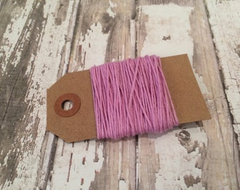 10 Yards of Solid Lavender Baker's Twine