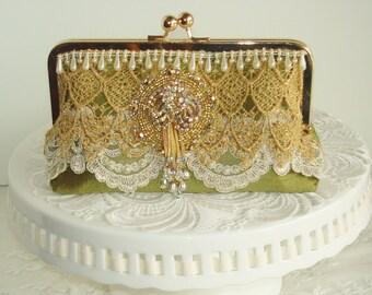 Green Wedding / French Vintage / Vintage Wedding / Marie Antoinette / Vintage Bride