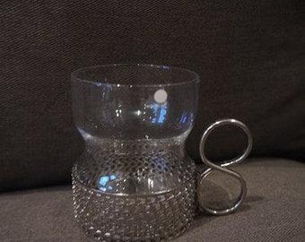 Hot Drink Glasses - Iittala - Finland - Tsaikka - Timo Sapaneva - 60s -
