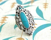 SALE! Turquoise Stone Ring