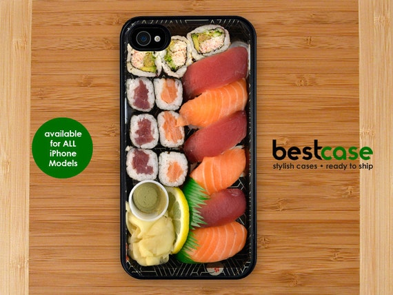 sushi iphone Case - iPhone 5 case iPhone 5C case sushi funny iphone cover iphone 6 case