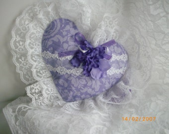 Lavender and Lace Sachet