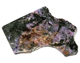 Charoite Slab Specimen Russia Siberia Rare Stone