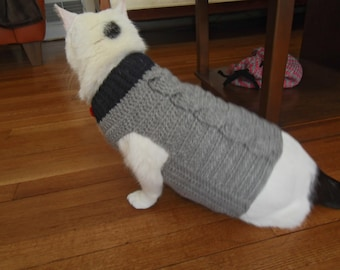 Cat Crochet Coat
