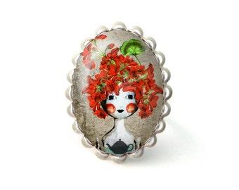 Gerania doll ring