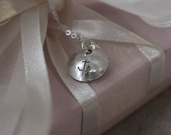 Friendship Anchor Necklace, Best Friends, Sisters, Brothers