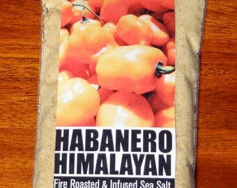 Habanero Himalayan Fire Roasted & Infused Sea Salt