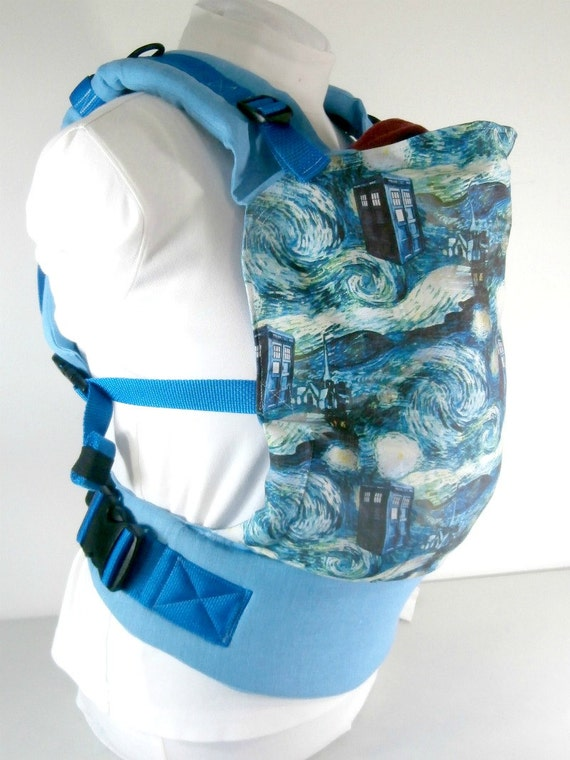 Doctor Who Full Buckle Baby Carrier Whovian Babywearing