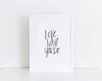 Love What You Do - Digital Download