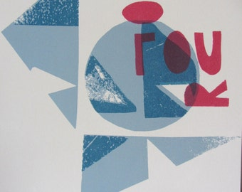 Colour Limited Edition Screen Print