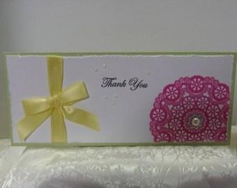 Thank you - Thank you Card