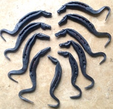 Popular items for blacksmith made on etsy for Things made from horseshoes
