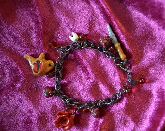 American Mcgees Alice themed bracelet