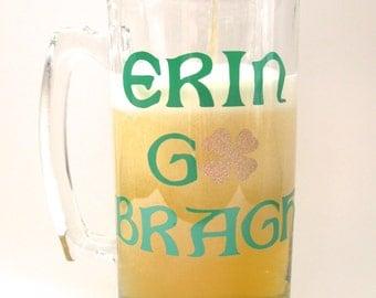 St. Patrick's Day Erin Go Bragh Beer Mug