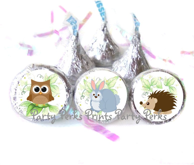 woodland animal baby shower favors hedgehog by partyperksprints
