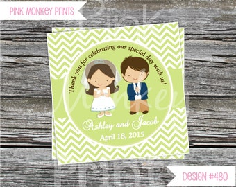 DIY - Boy and Girl  First Communion Favor Tags # 480- Coordinating Items Available